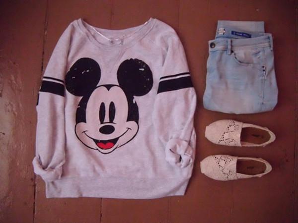 Disney Look Womens Shoes
