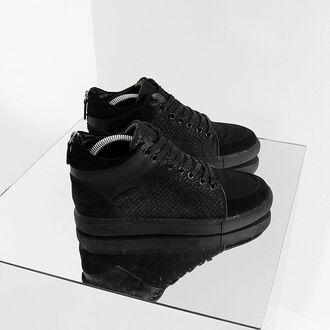 shoes maniere de voir sneakers fur sneakers pony fur balenciaga y3 maison margiela hitops