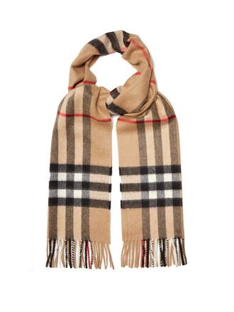 classic scarf camel
