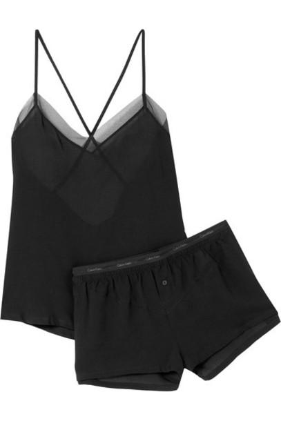 CALVIN KLEIN UNDERWEAR black underwear