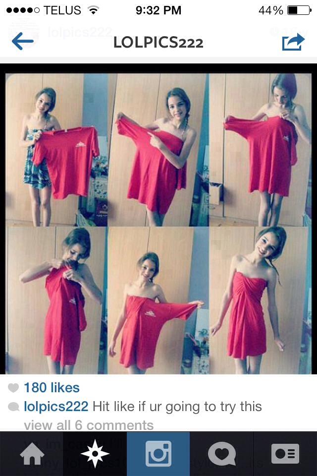 Big Shirt Dress