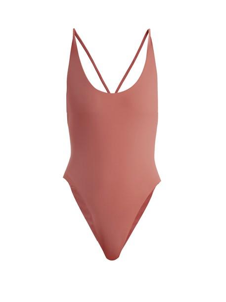 DOS GARDENIAS pink swimwear