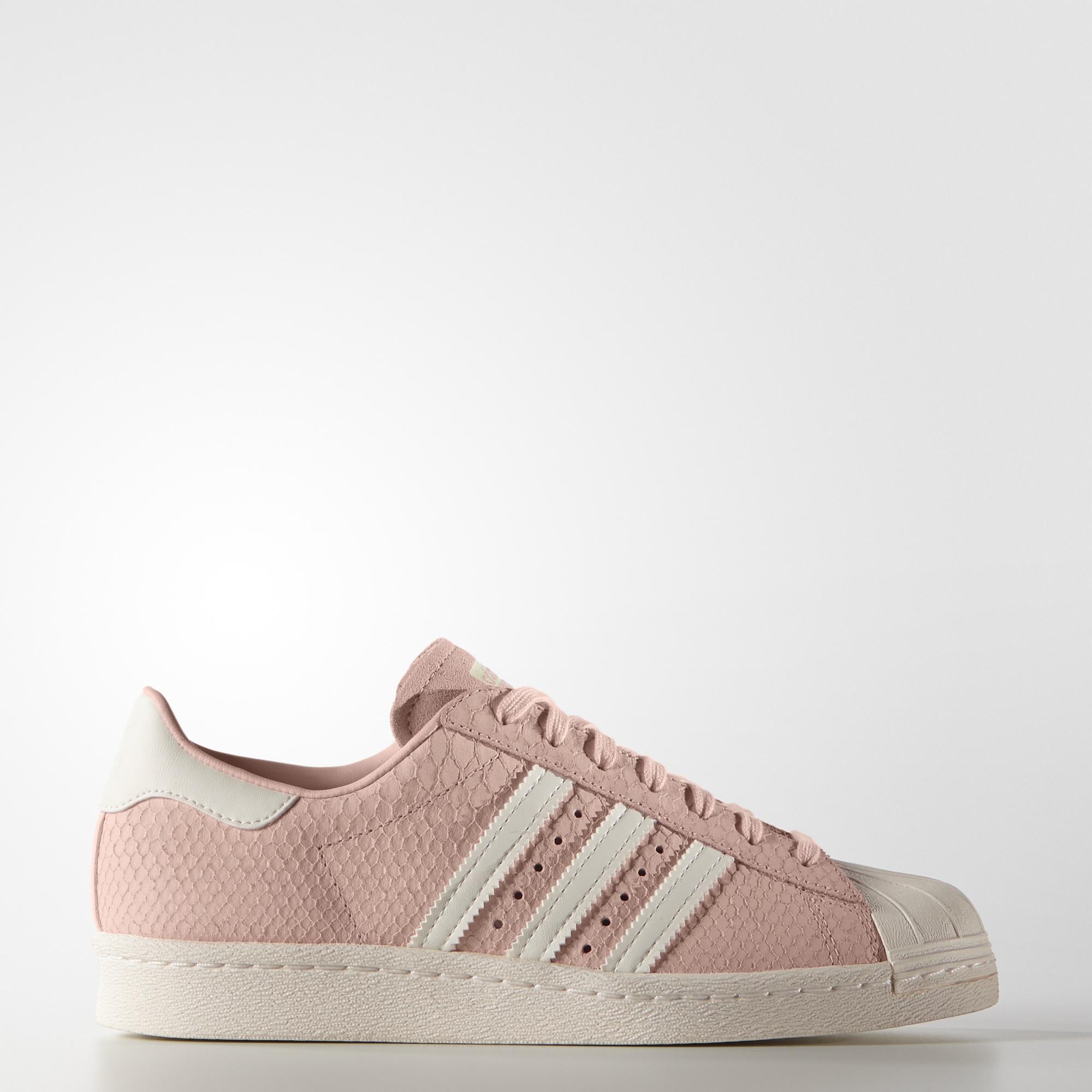 adidas superstar suede rosa