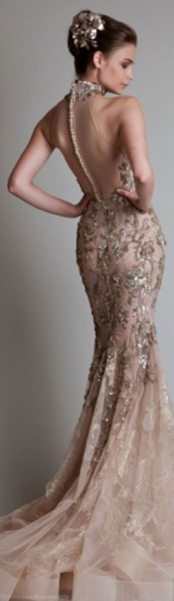 dress gold prom dress sequin dress
