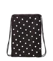 beaded,backpack,black,bag