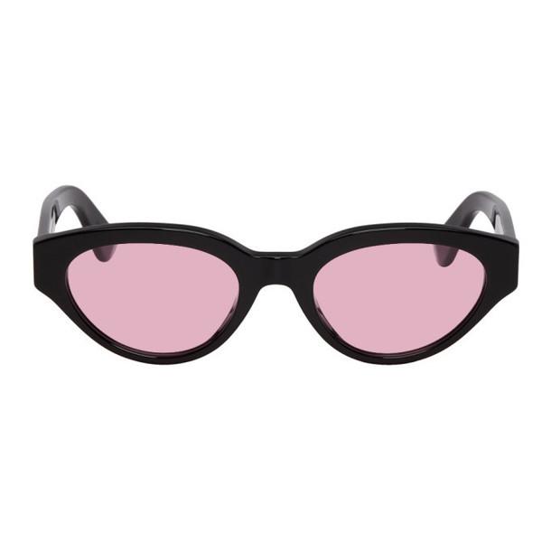 Super Black & Pink Drew Sunglasses