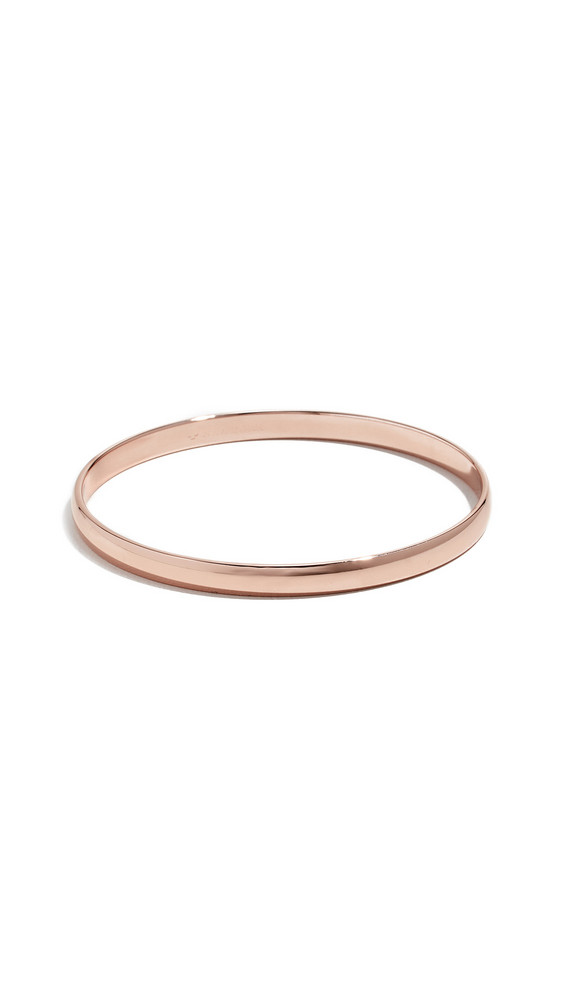 Kate Spade New York Stop And Smell The Roses Idiom Bangle in rose / gold
