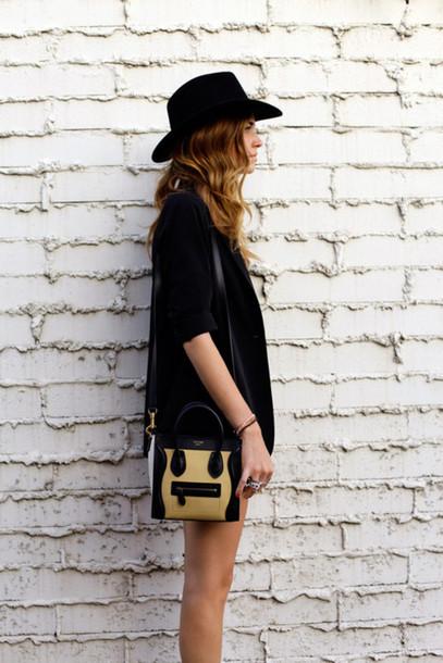 celine replica bags - Bag: beige/black, celine, mini, shoulder bag - Wheretoget