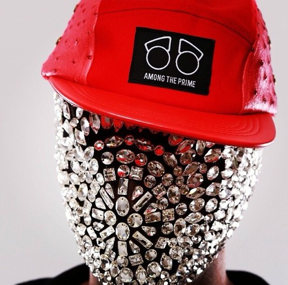 mask jewels diamonds kanye west