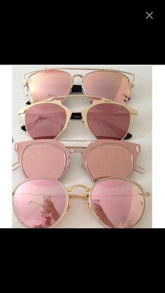 sunglasses pink pastel sunglasses glasses sunnies accessories