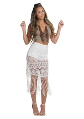 skirt,opulent kloset,skorts,fringes,fringe skirt,fringey skirt,floral skirt,crochet skirt,white crochet skirt,white skort,tassel skirt,vacation look,floral crochet skirt,white floral crochet skirt,boho,boho chic,boho looks,boho skirt,boho skort,boho fringe skirt