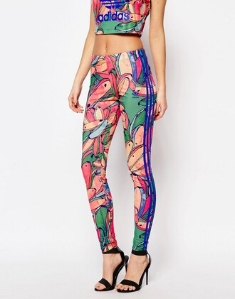 leggings floral