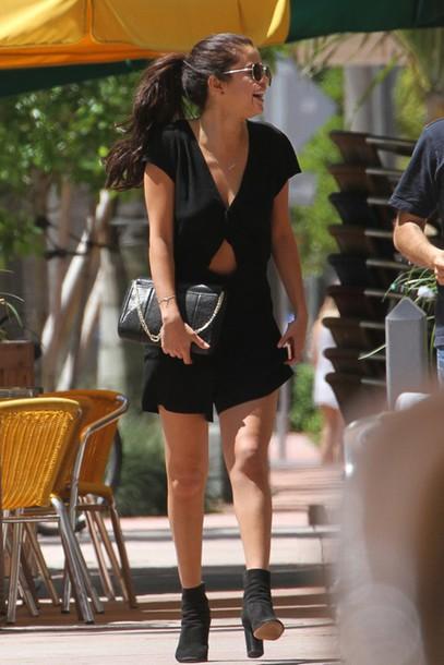 selena gomez romper summer outfits