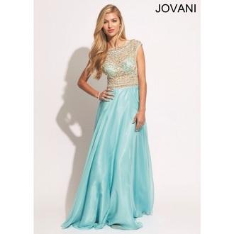 dress jovani prom dress light blue prom dress