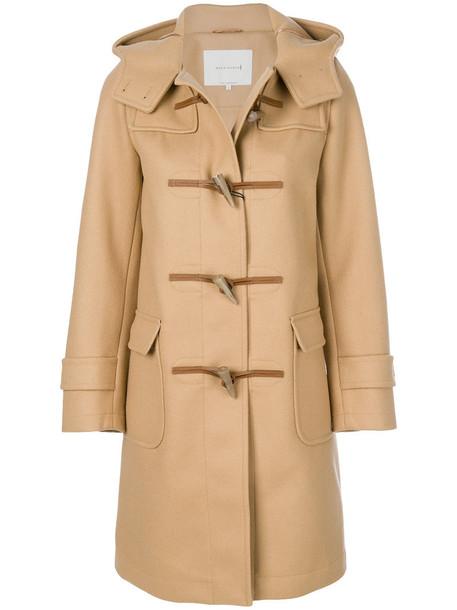 Mackintosh coat duffle coat women nude wool