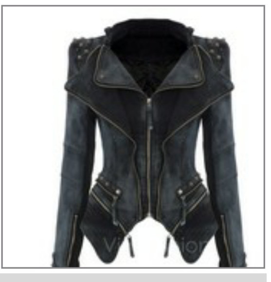 jacket black jacket studded shoulders