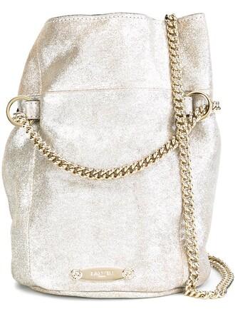 mini bag bucket bag grey