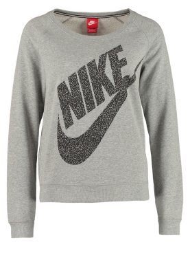 nike sportswear rally crew mezzo sweater grey heather. Black Bedroom Furniture Sets. Home Design Ideas