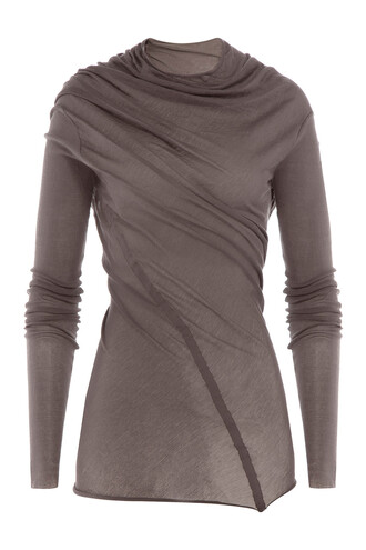 top draped grey