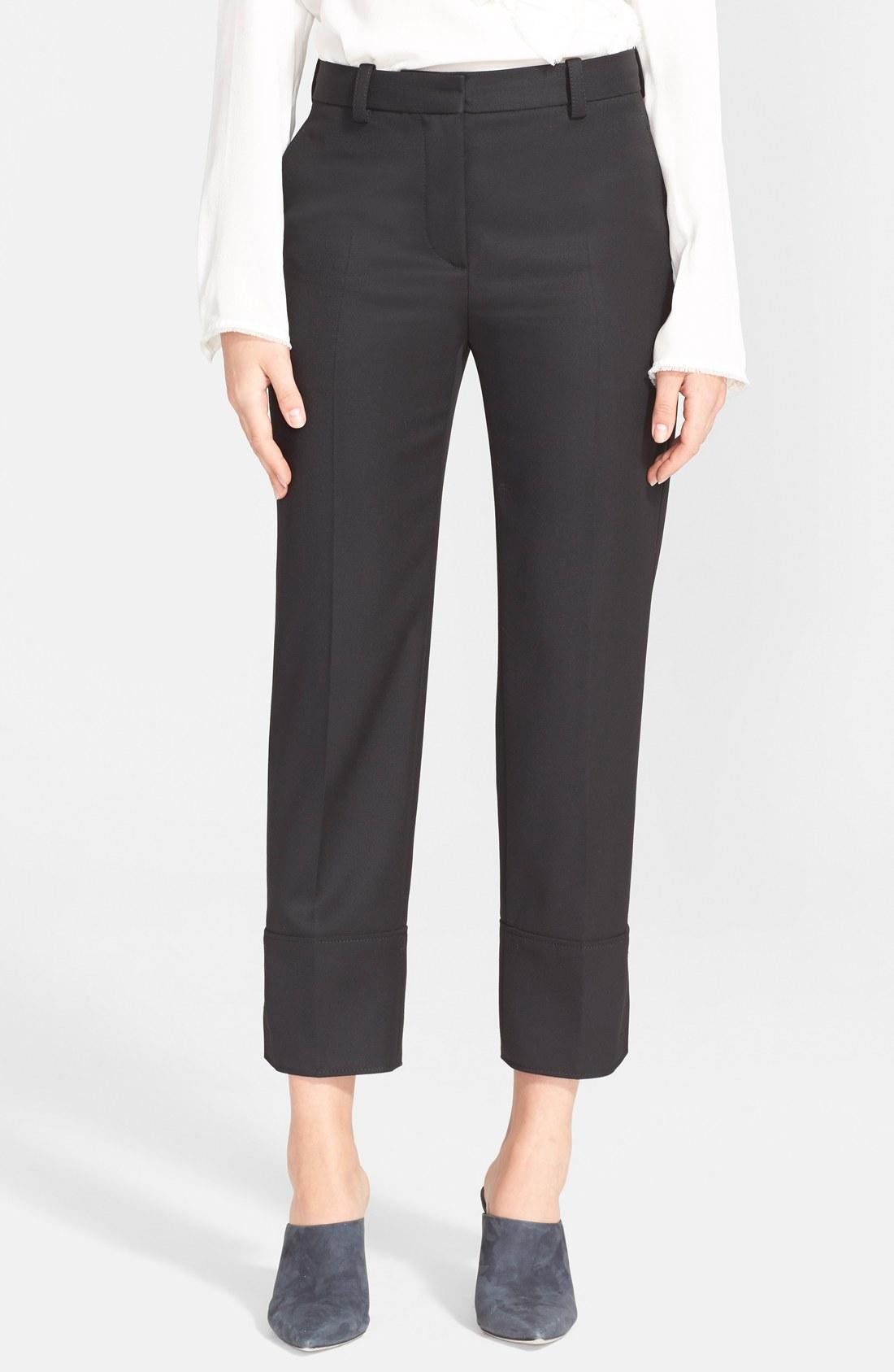 3 1 phillip lim slim fit cuff pants nordstrom. Black Bedroom Furniture Sets. Home Design Ideas