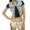 Frayed high-low denim vest | shop jackets at wet seal