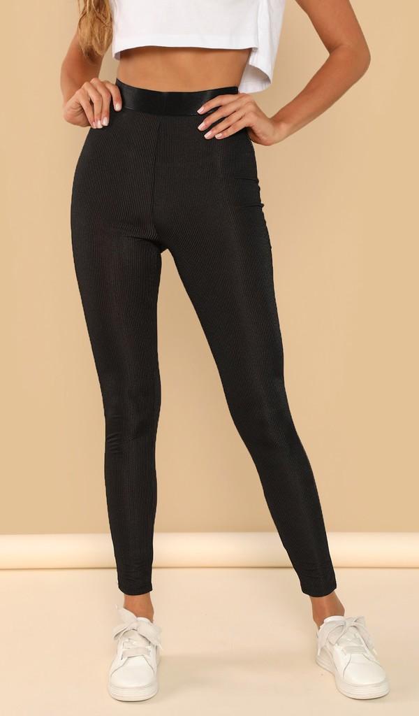 pants cute girly girl girly wishlist black high waisted leggings
