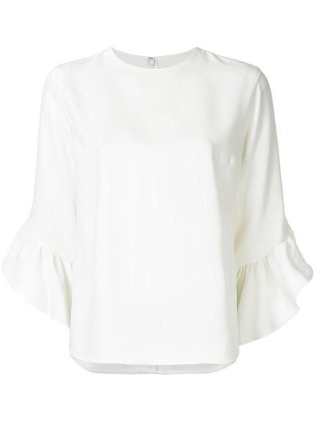 Le Ciel Bleu t-shirt shirt t-shirt women white top