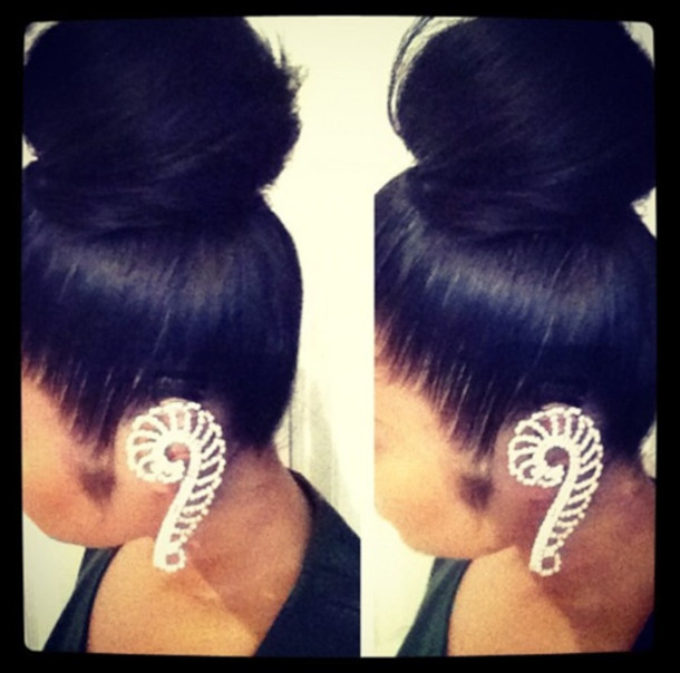 jewels wings cuff ear cuff