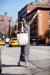 dress,grey,maxi,long,sleveless