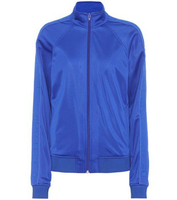 Givenchy Jersey track jacket in blue