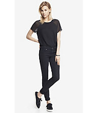MID RISE BLACK JEAN LEGGING from EXPRESS