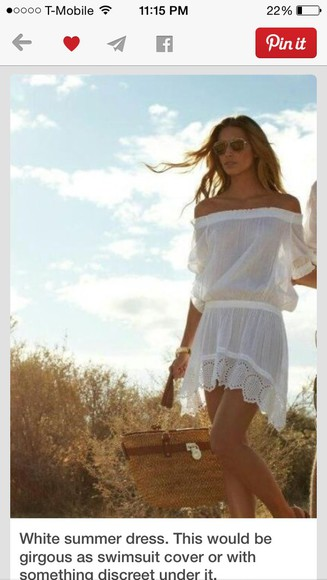 white dress lace dress cream dress