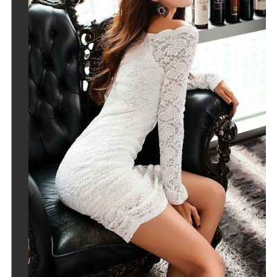 Buy Fashion Clothing -  Slim Sexy Lace Party Women's Dress - Dresses
