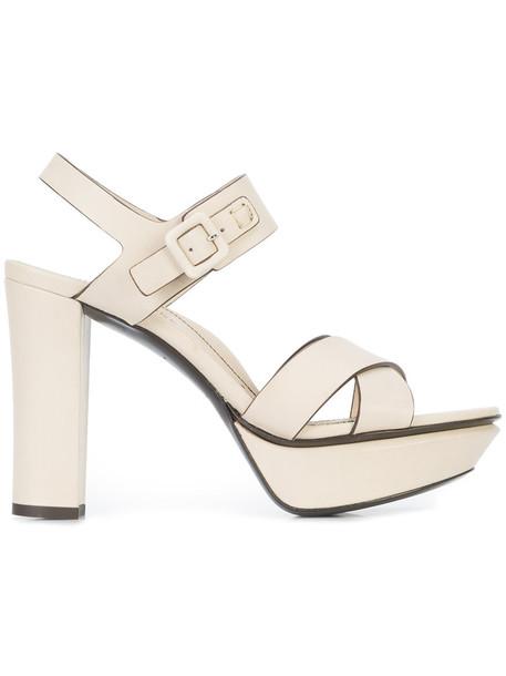 Marion Parke women sandals leather white shoes
