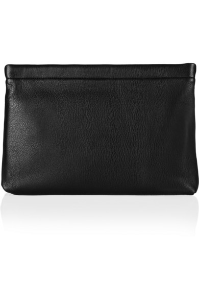Marc by Marc Jacobs|Can't Clutch This textured-leather clutch|NET-A-PORTER.COM