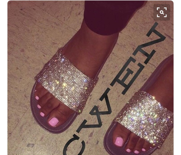 shoes, sandals, flat sandals, studded