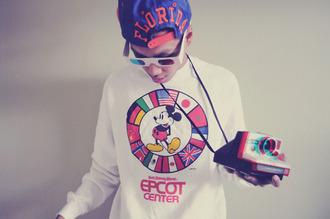 sweater mickey mouse dope sweatshirt swag