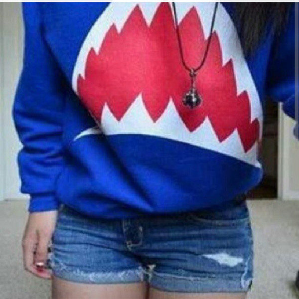 sweater shark