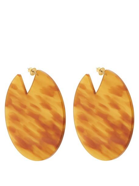 VANDA JACINTHO earrings brown jewels