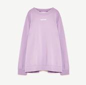 blouse,lavender,lavender blouse,zara,zara blouse,back straps