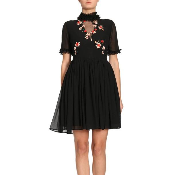 Blugirl dress women black