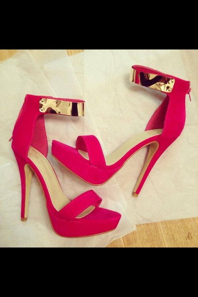 Shoes Pink High Heels Black Summer Outfits Pink Heels