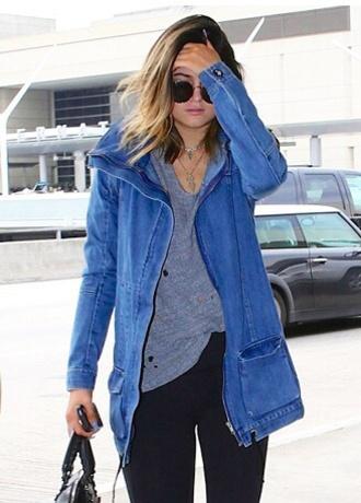 jacket kylie jenner cardigan blogger jeans t-shirt