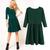 New Ladies Classic Plain Slim Fit Flared Pleated Skirt Skater Basic Dress Party | eBay