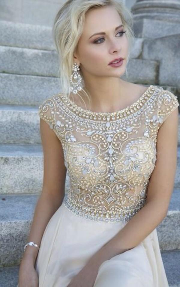 prom dress elegant