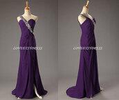 dress,one shoulder dresses,prom dress,evening dress,formal dress prom dress purple,formal event outfit