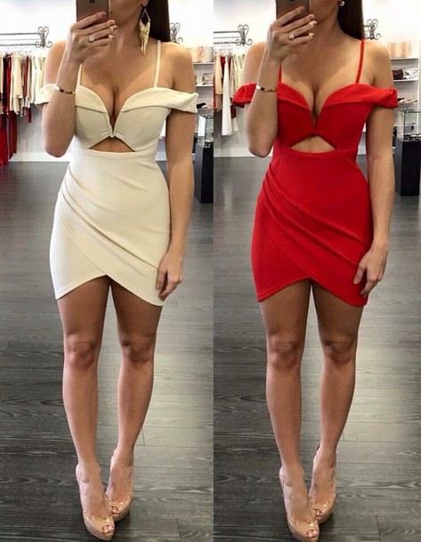 3d15c2aa1ee7 dress white red white dress red dress party dress sexy dress sexy short dress  sexy short