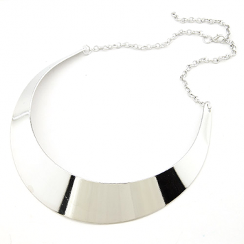 Silver Color Collar Necklace