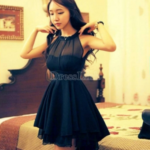 Women Novelty Cute Lace Dresses Peplum Party