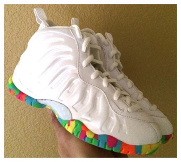 shoes nike little posite one